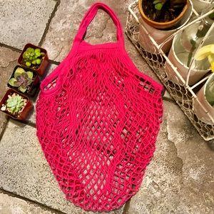 Handbags - 🆕🆕✨FRENCH MKT SHORT HANDLE STRING NET BAG✨